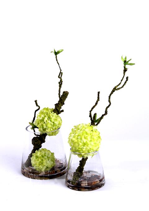 插花和花艺作品